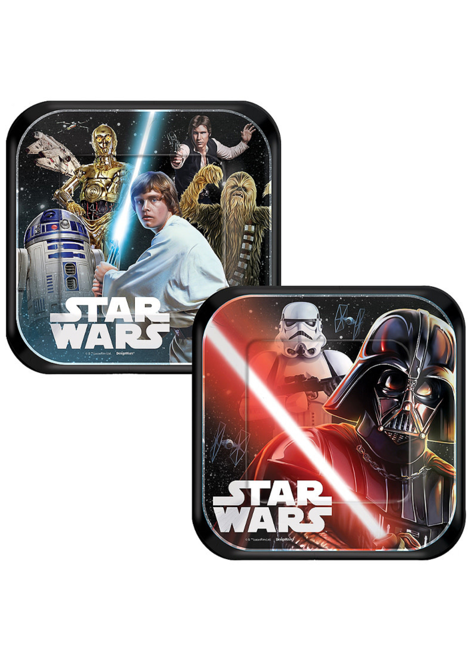 Star Wars Dessert Plates - 8ct