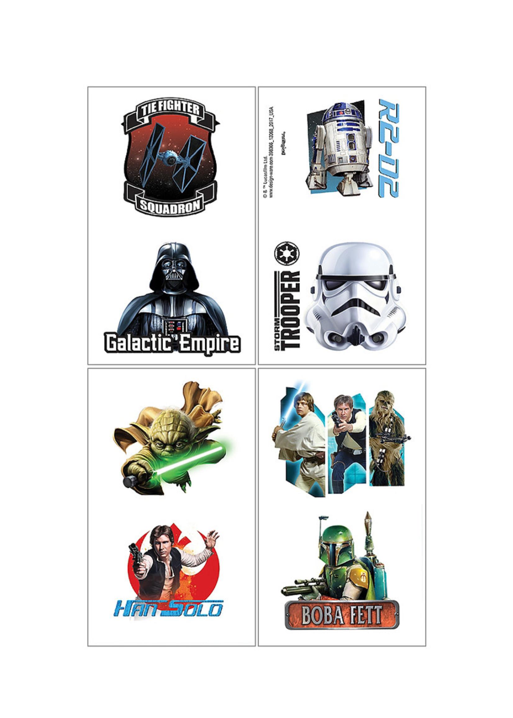 Star Wars Tattoos 1 Sheet