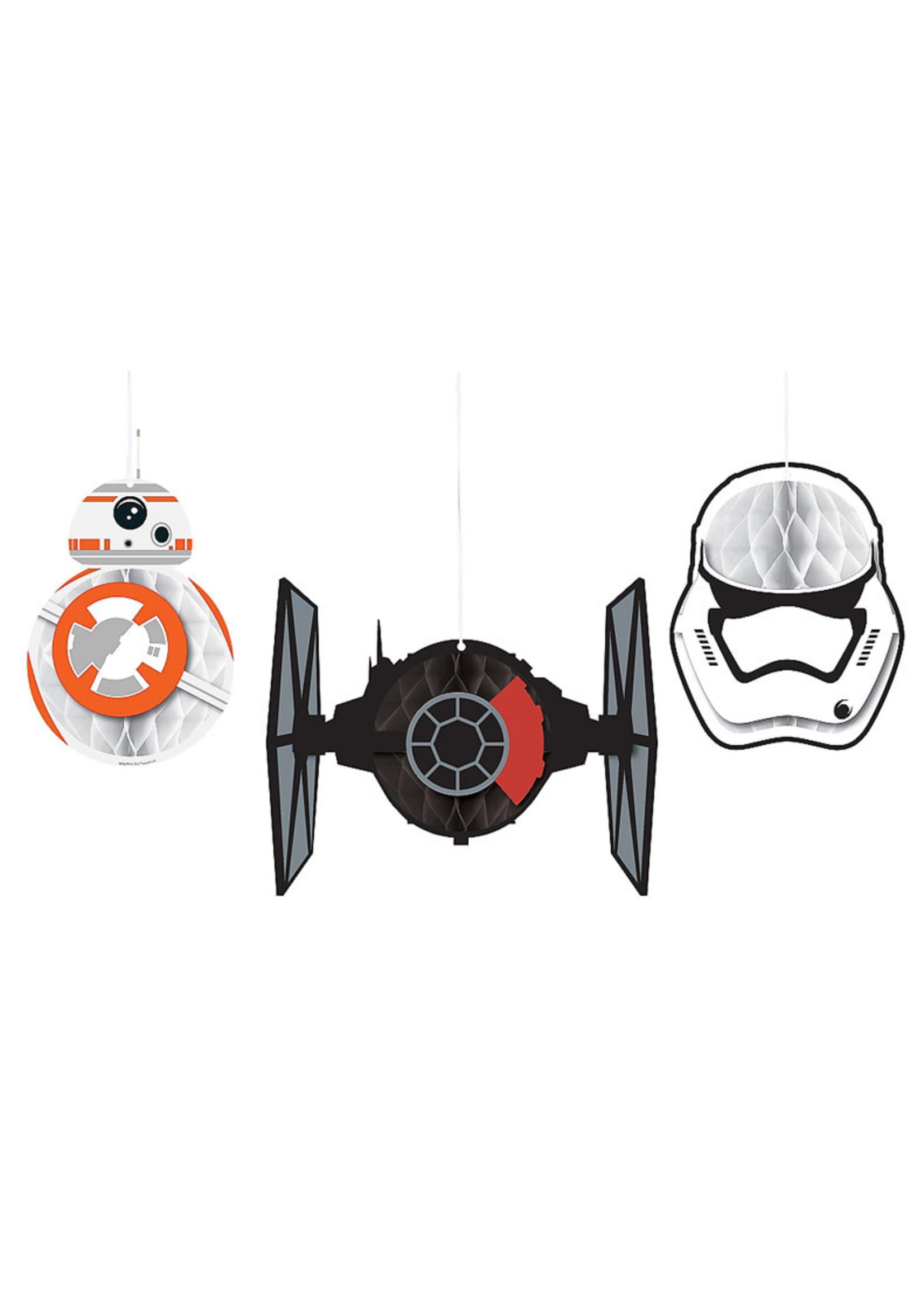 Star Wars - The Force Awakens Honeycomb Balls 3ct