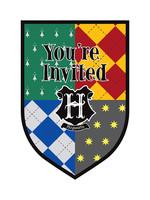 Harry Potter Invitations 8ct