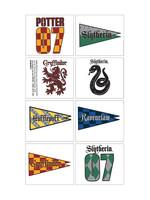 Harry Potter House Tattoos 1 Sheet