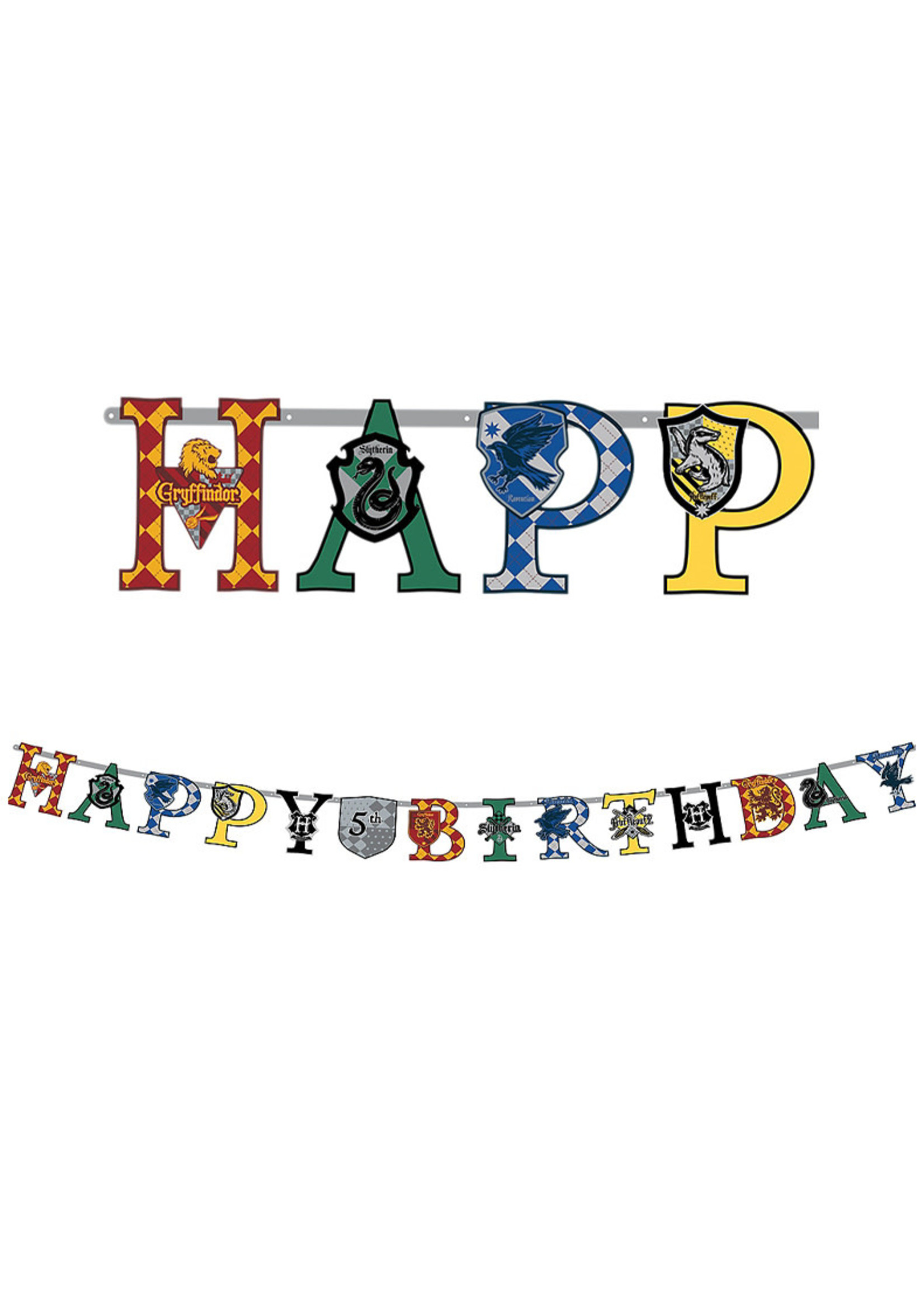 Harry Potter Birthday Banner Kit