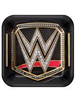 WWE Champion Dessert Plates 8ct