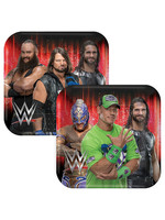 WWE Champion Lunch Plates 8ct