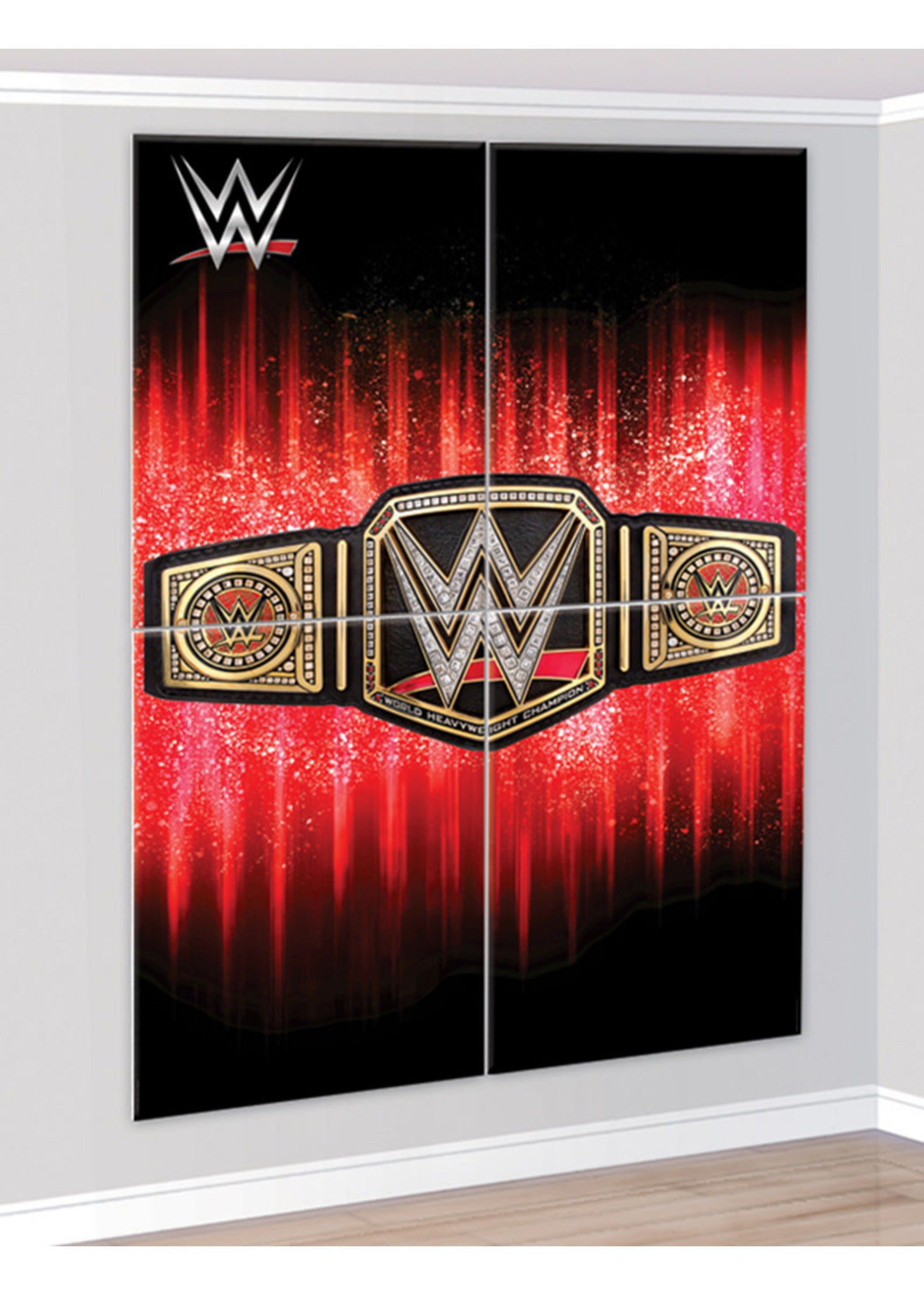 WWE Champion Scene Setter 4pc
