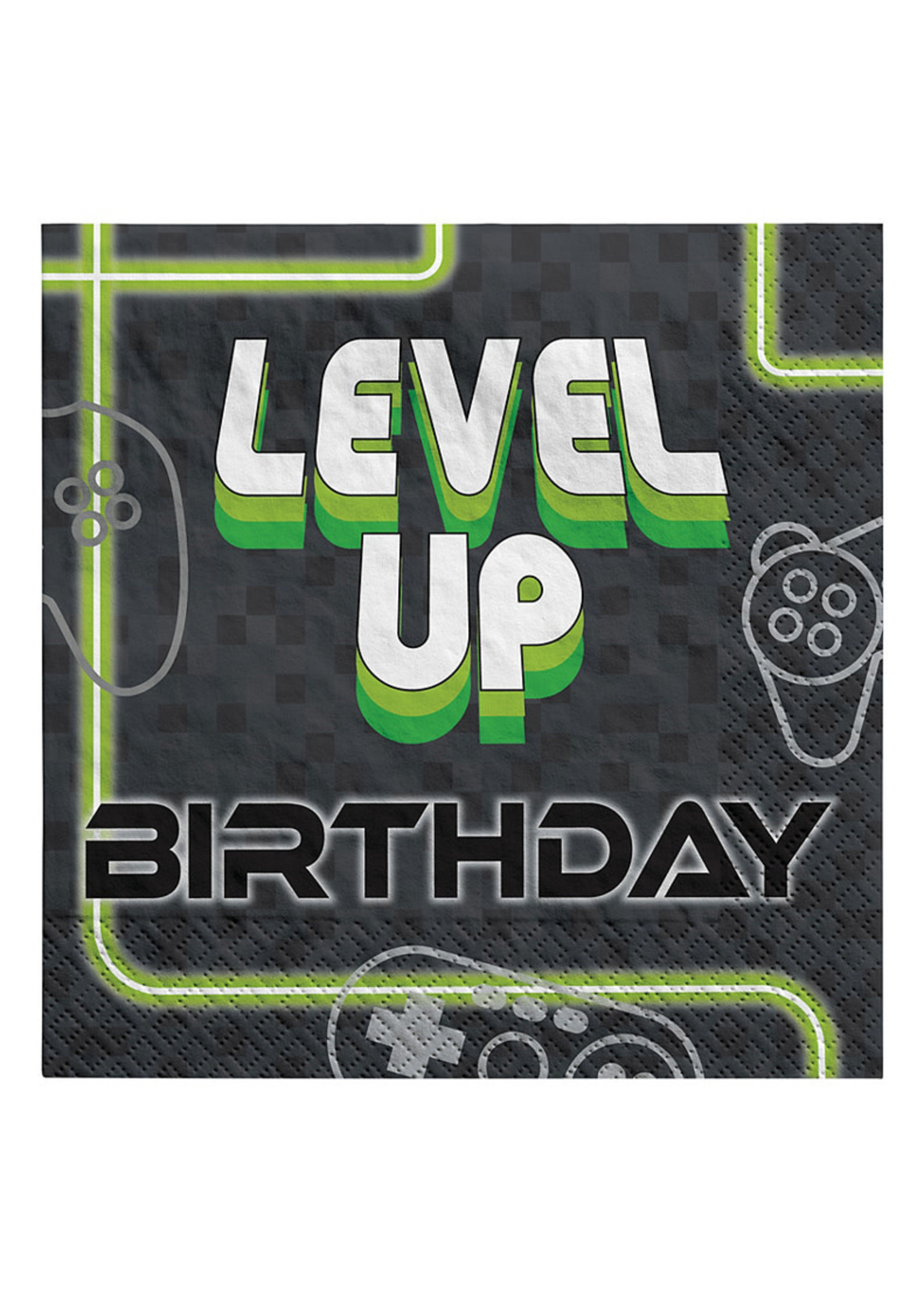 Level Up Lunch Napkins 16ct