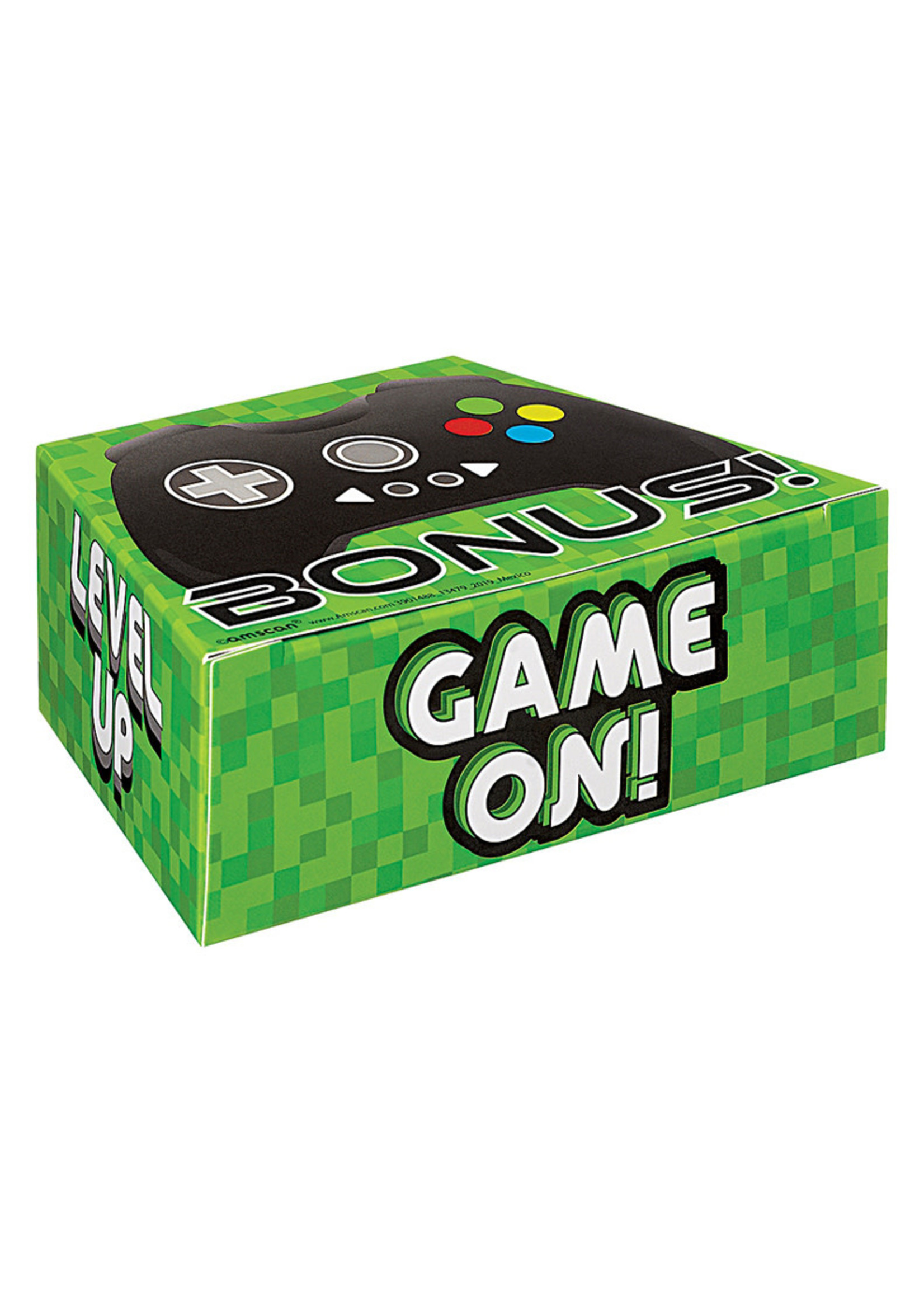 Level Up Game Controller Favor Box 8ct