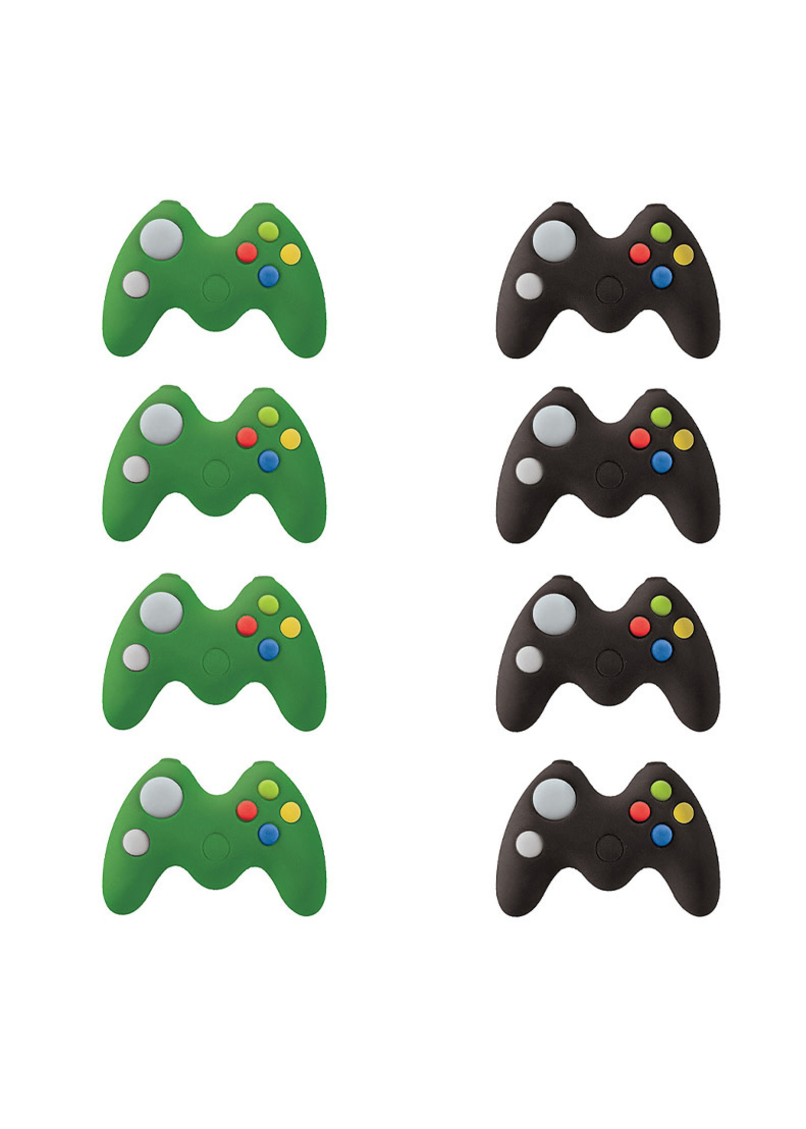 Level Up Game Controller Erasers 8ct