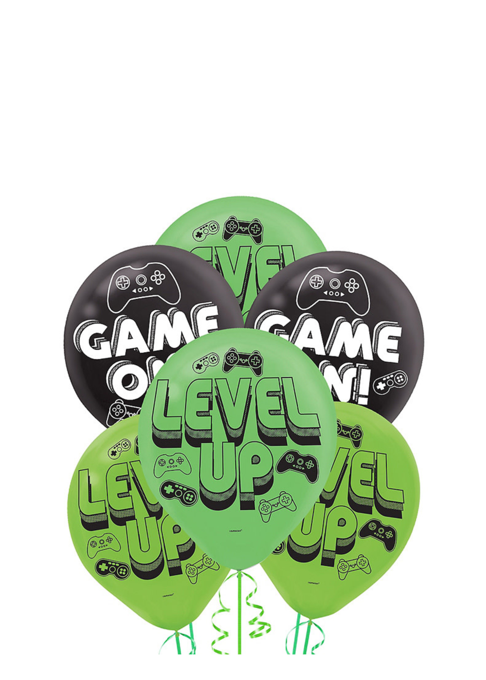 Level Up Latex Balloons 6ct