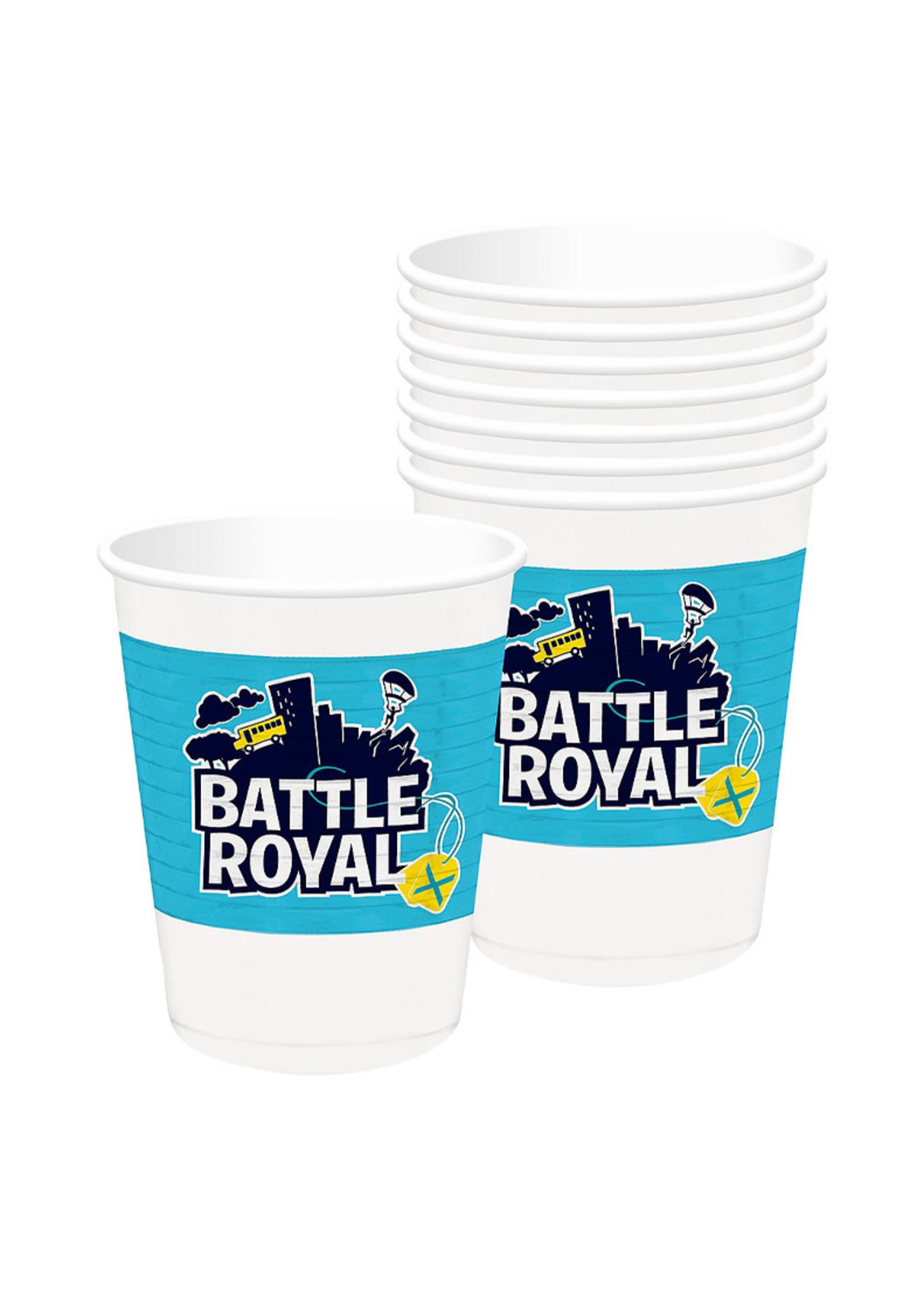 Battle Royal Plastic Cups 8ct