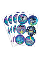 Battle Royal Stickers 4 Sheets