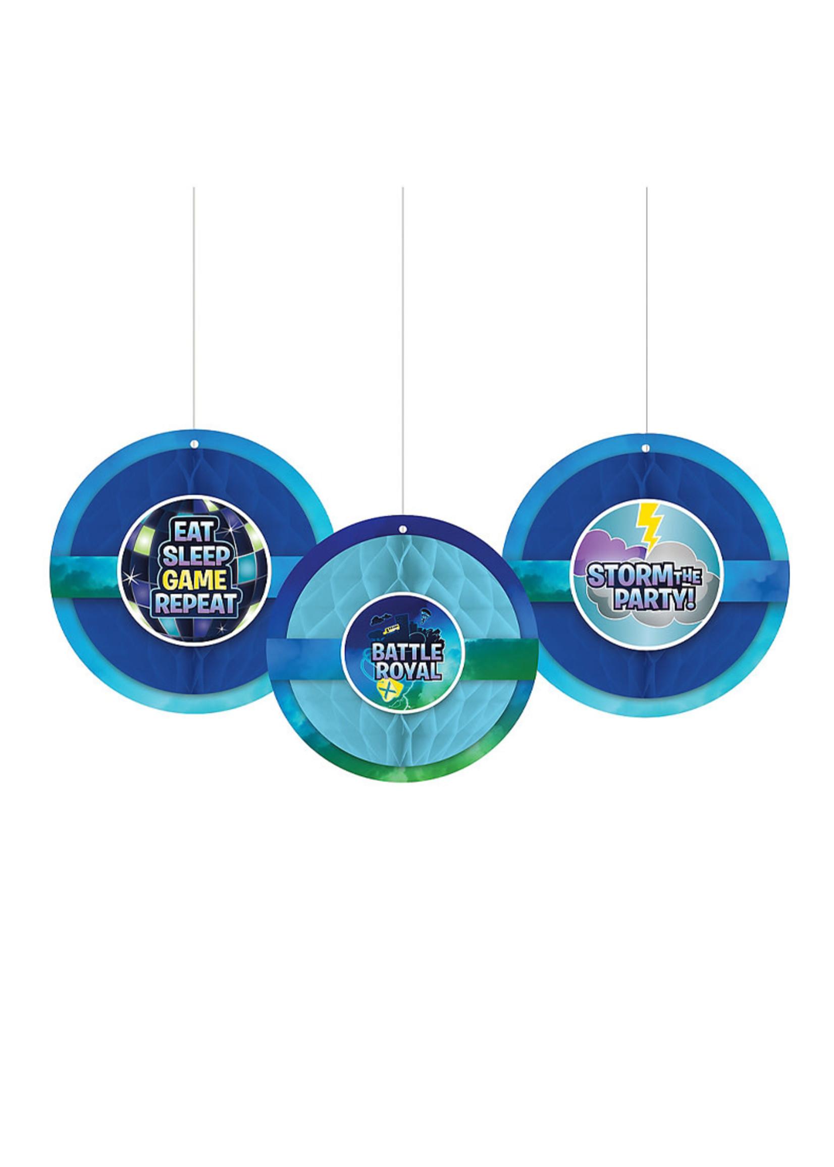 Battle Royal Honeycomb Balls 3ct