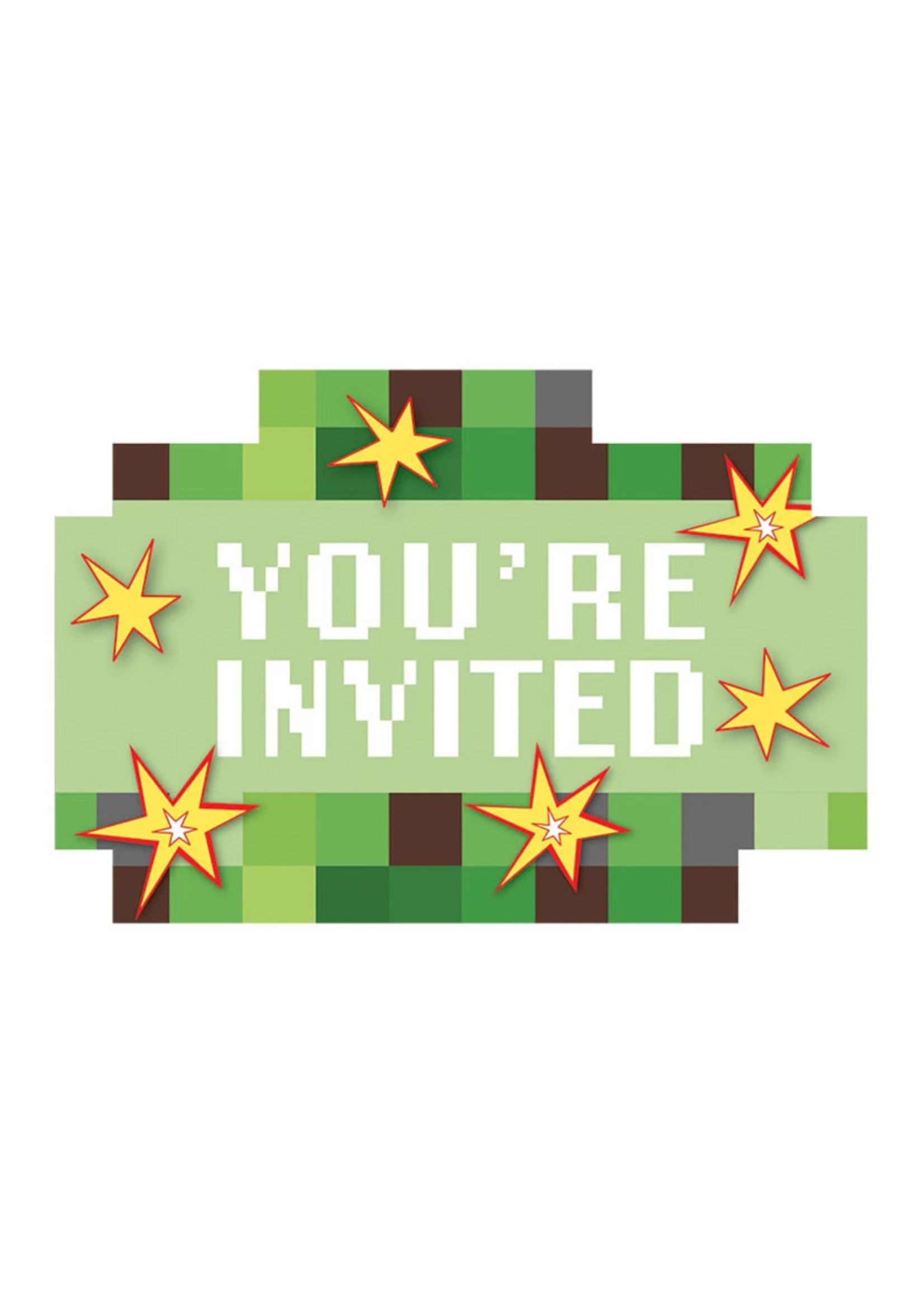 TNT Party! Invitations 8ct