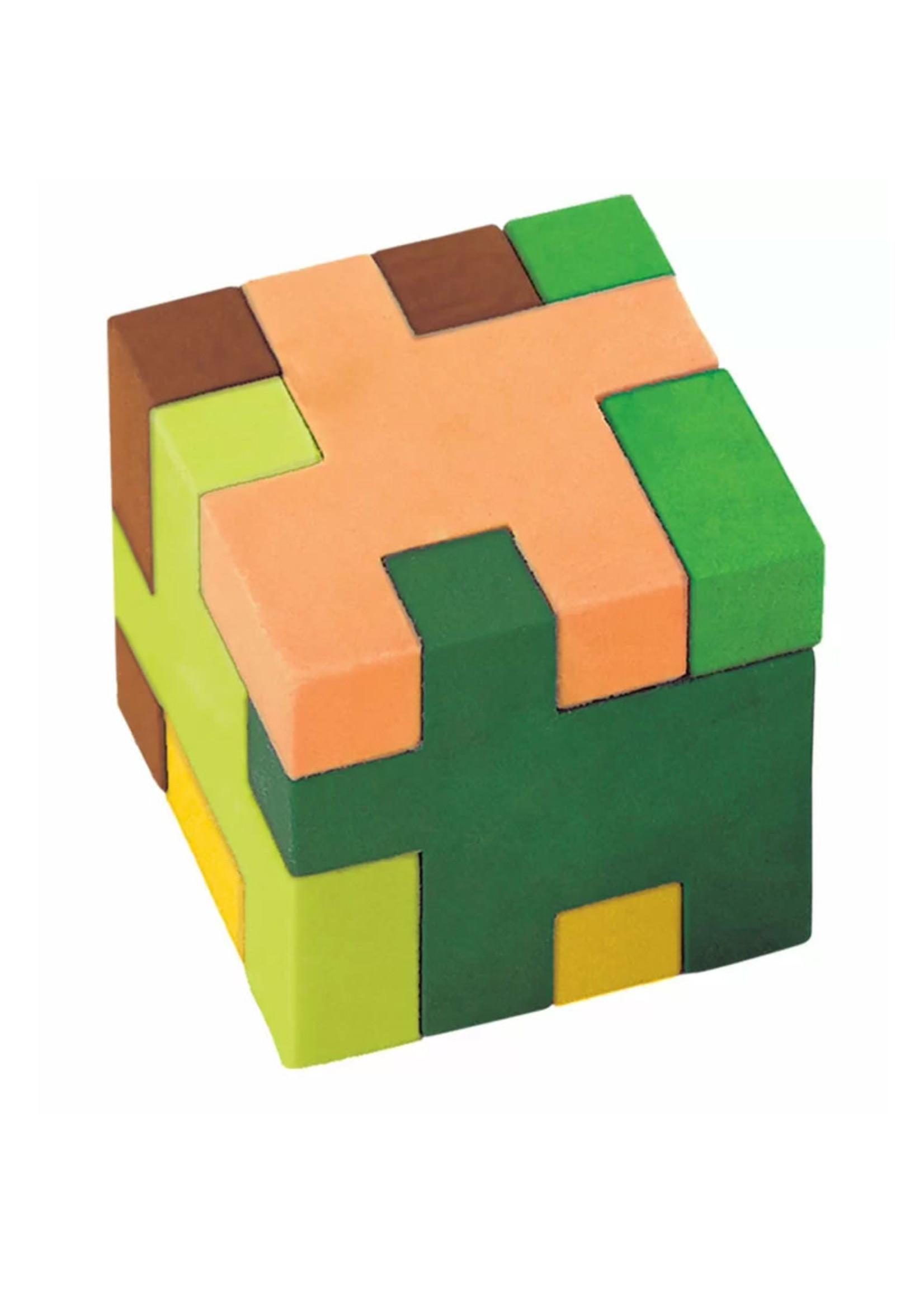 TNT Party Cube Puzzle Eraser - 12ct