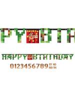 TNT Party! Jumbo Happy Birthday Banner