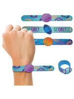 Birthday Baller Slap Bracelets 4ct