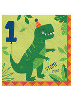 Dino-Mite 1st Birthday Lunch Napkins 16ct