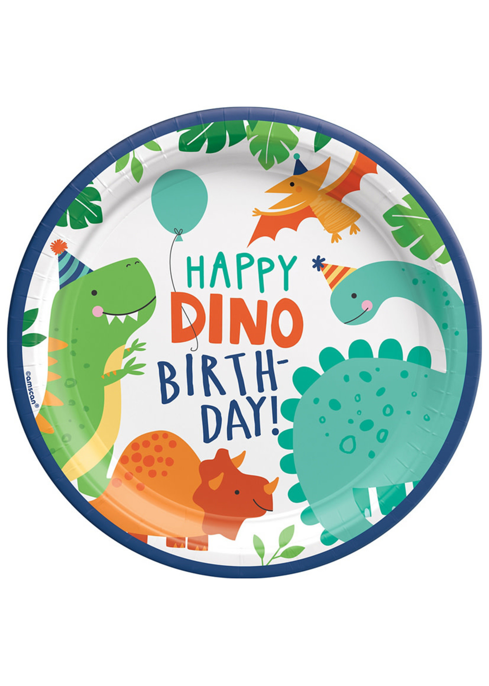 Dino-Mite Lunch Plates 8ct