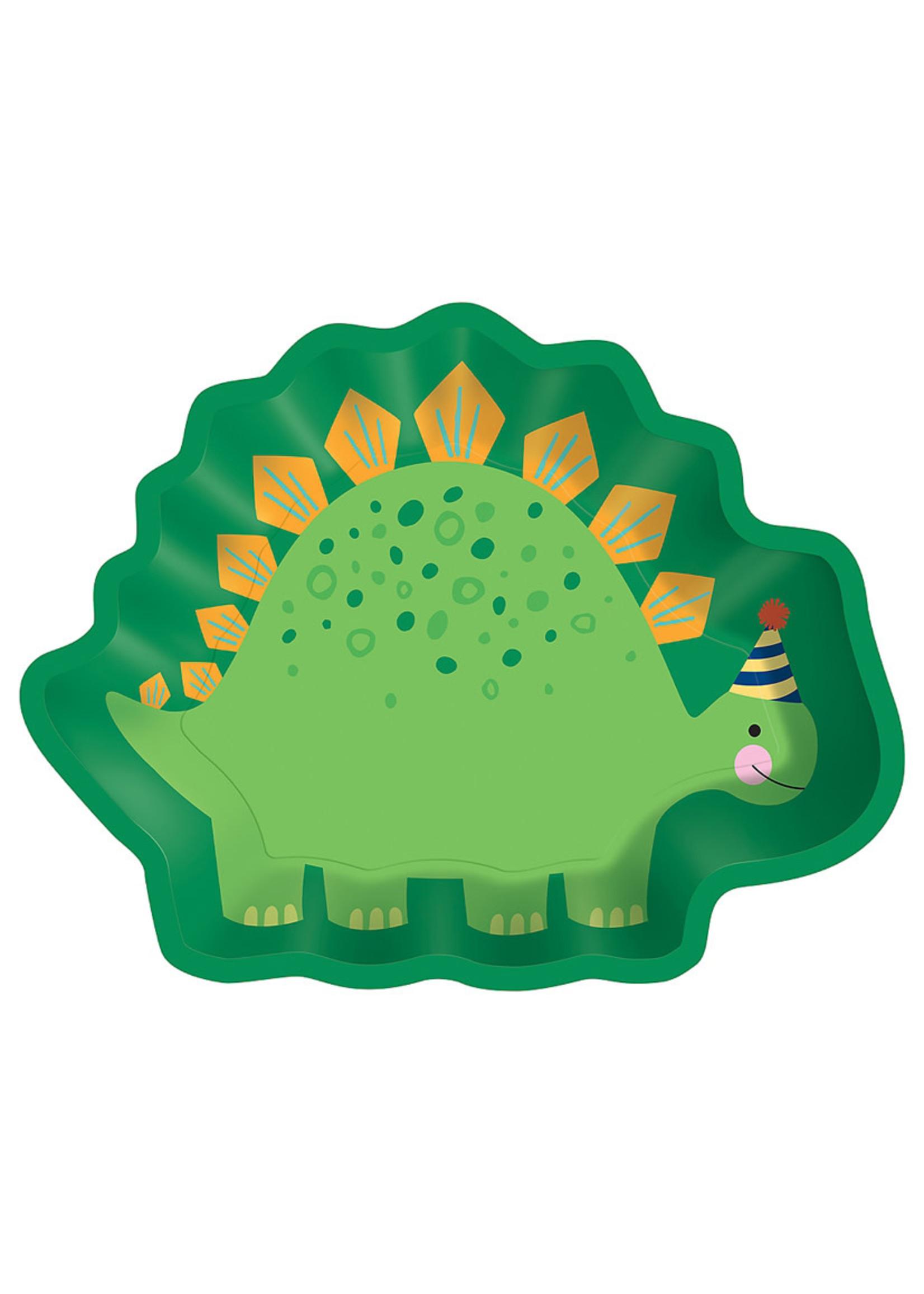 Dino-Mite Dinosaur Lunch Plates 8ct