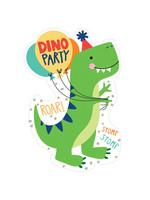 Dino-Mite Invitations 8ct
