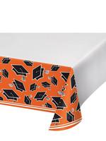 Creative Converting Orange Grad Table Cover