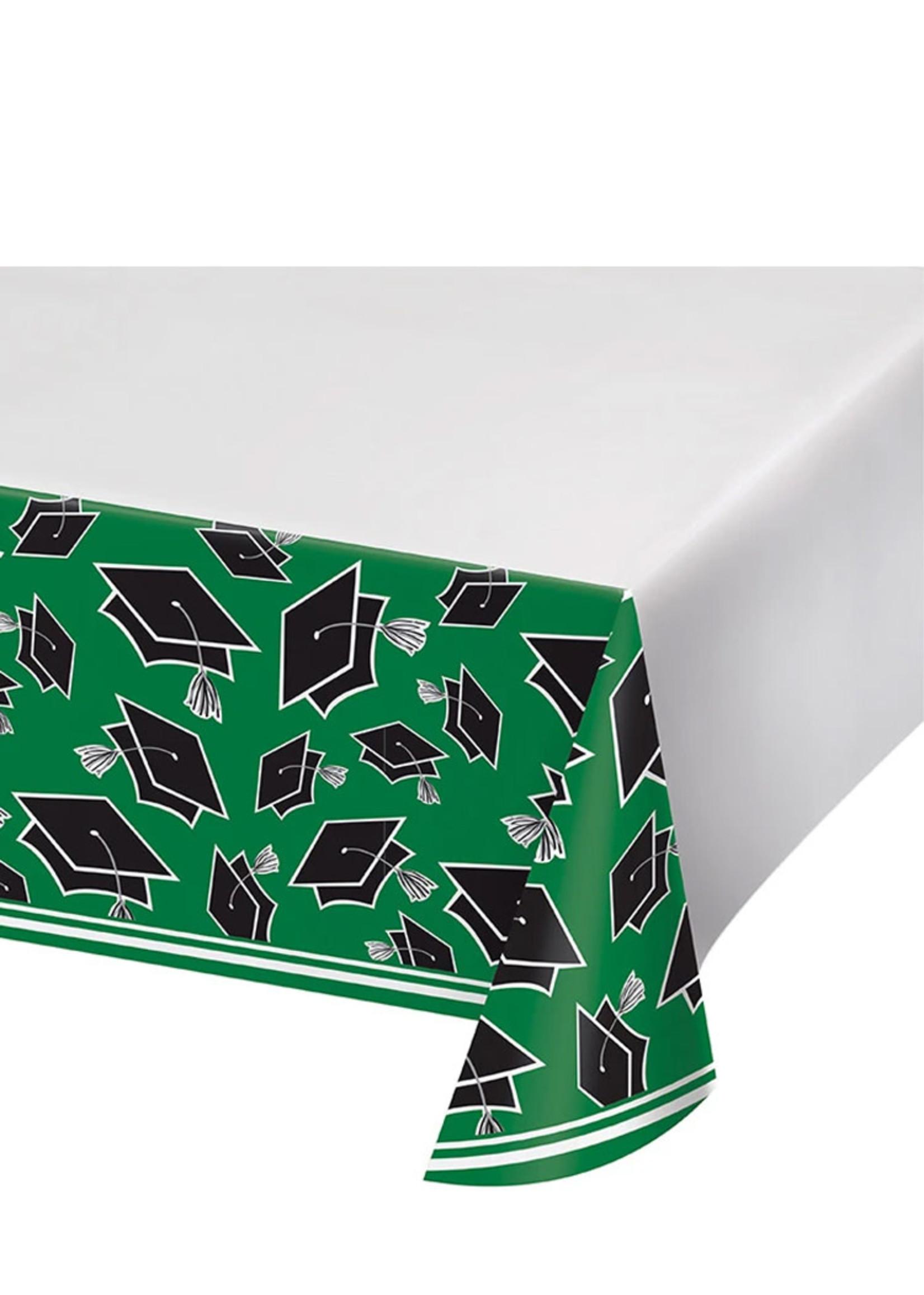 Creative Converting Green Grad Table Cover