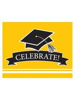 Creative Converting Yellow Grad Invitations - 25ct