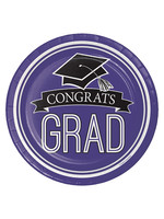 Creative Converting Purple Grad Lunch Paper Plates - 18ct