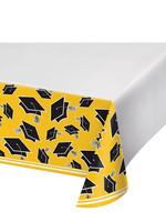 Creative Converting Yellow Grad Table Cover