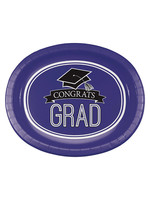 "Creative Converting Purple Grad Oval Platters, 10"" X 12"", 8ct"
