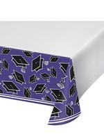 Creative Converting Purple Grad Table Cover