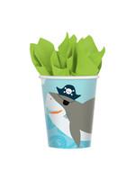 Ahoy Birthday Cups, 9oz - 18ct