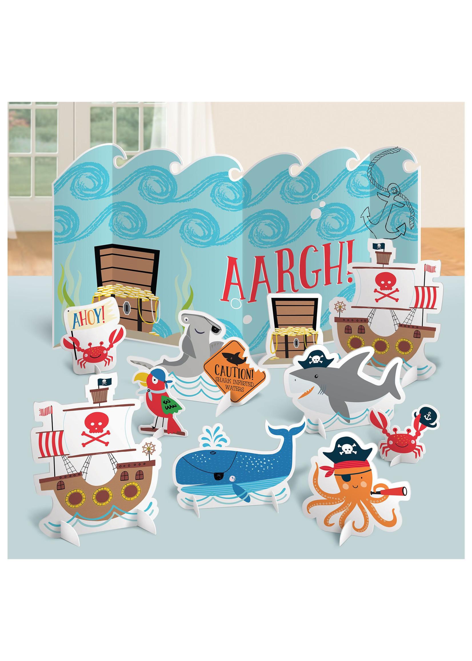 Ahoy Birthday Table Decorations