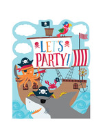 Ahoy Birthday Invitations - 8ct
