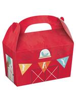 Barnyard Birthday Paper Treat Boxes - 8ct