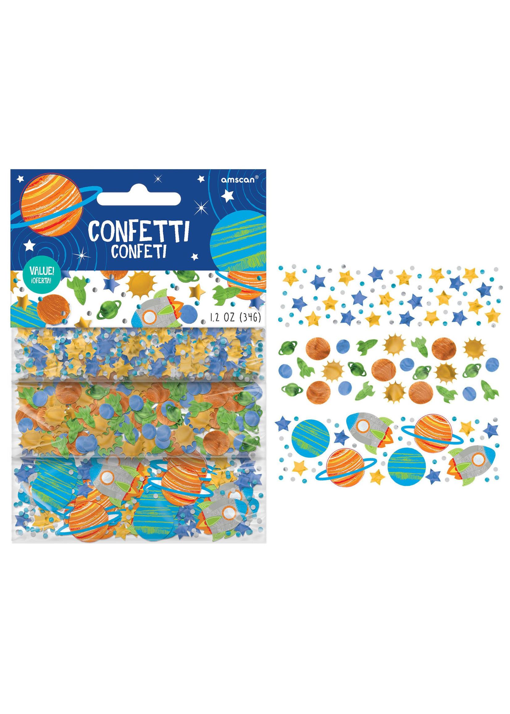 Blast Off Birthday Value Pack Confetti