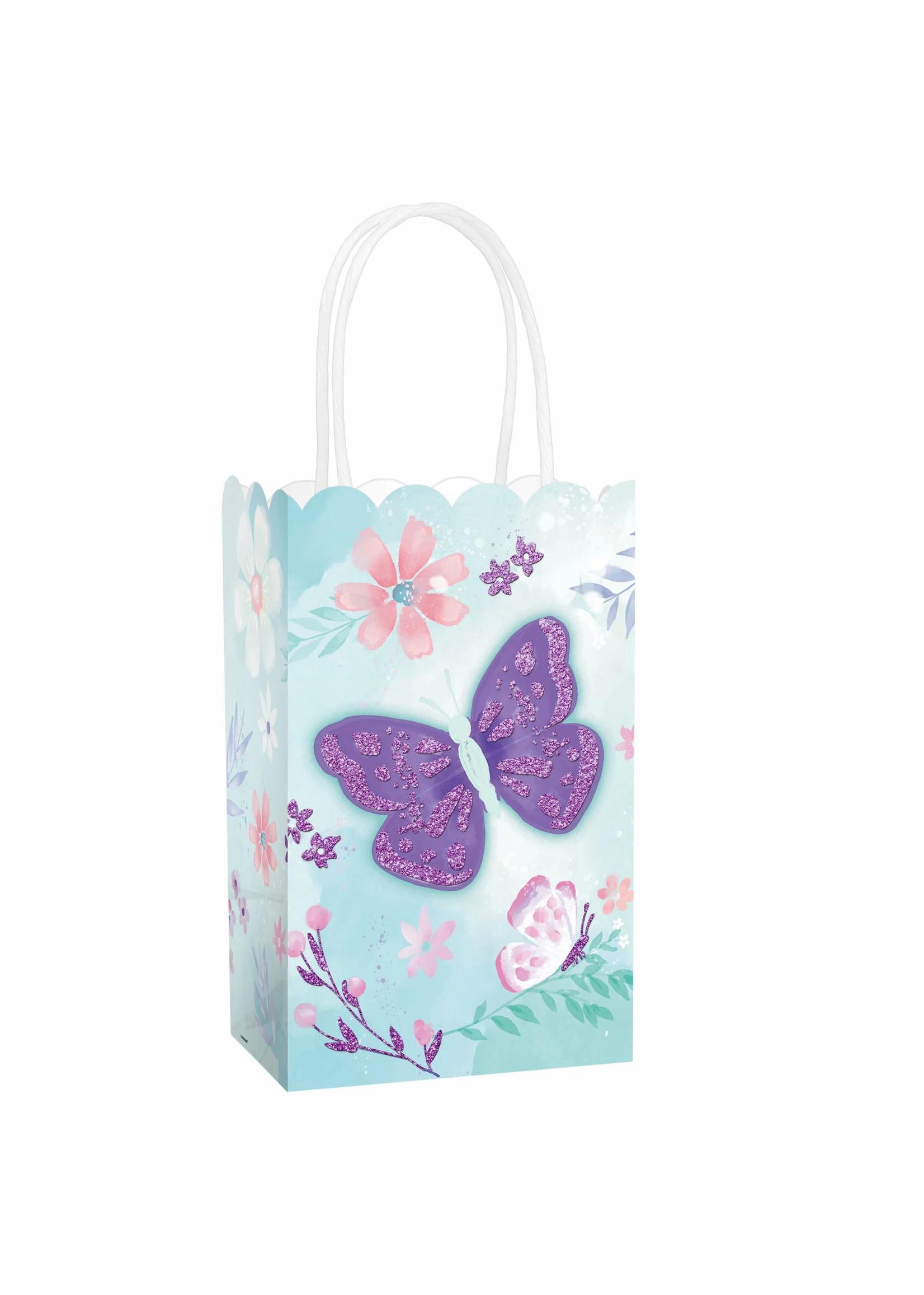 Flutter Glitter Small Cub Bag - 8ct
