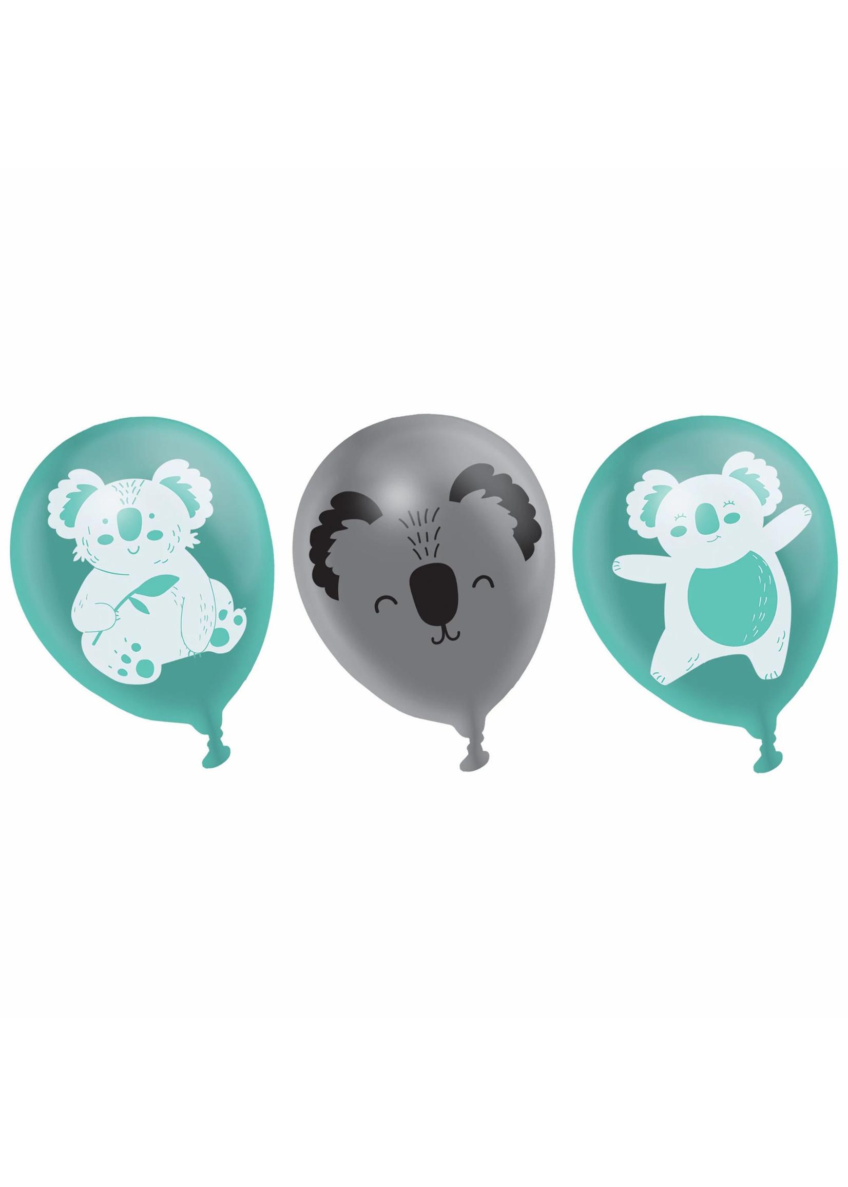 Koala Latex Balloons - 6ct