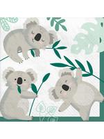 Koala Luncheon Napkin - 16ct