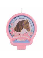 Saddle Up Birthday Candle