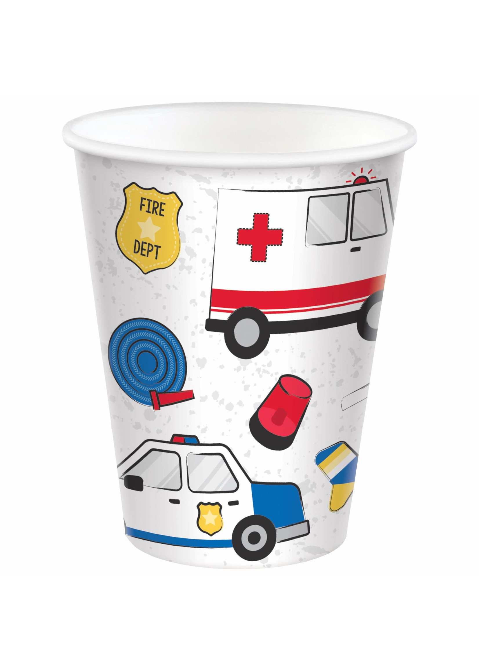 First Responders Cups, 9 oz. - 8ct