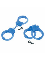 First Responders Plastic Handcuff Favor Pack - 8ct