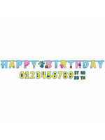 Blues Clues Jumbo Add An Age Letter Banner