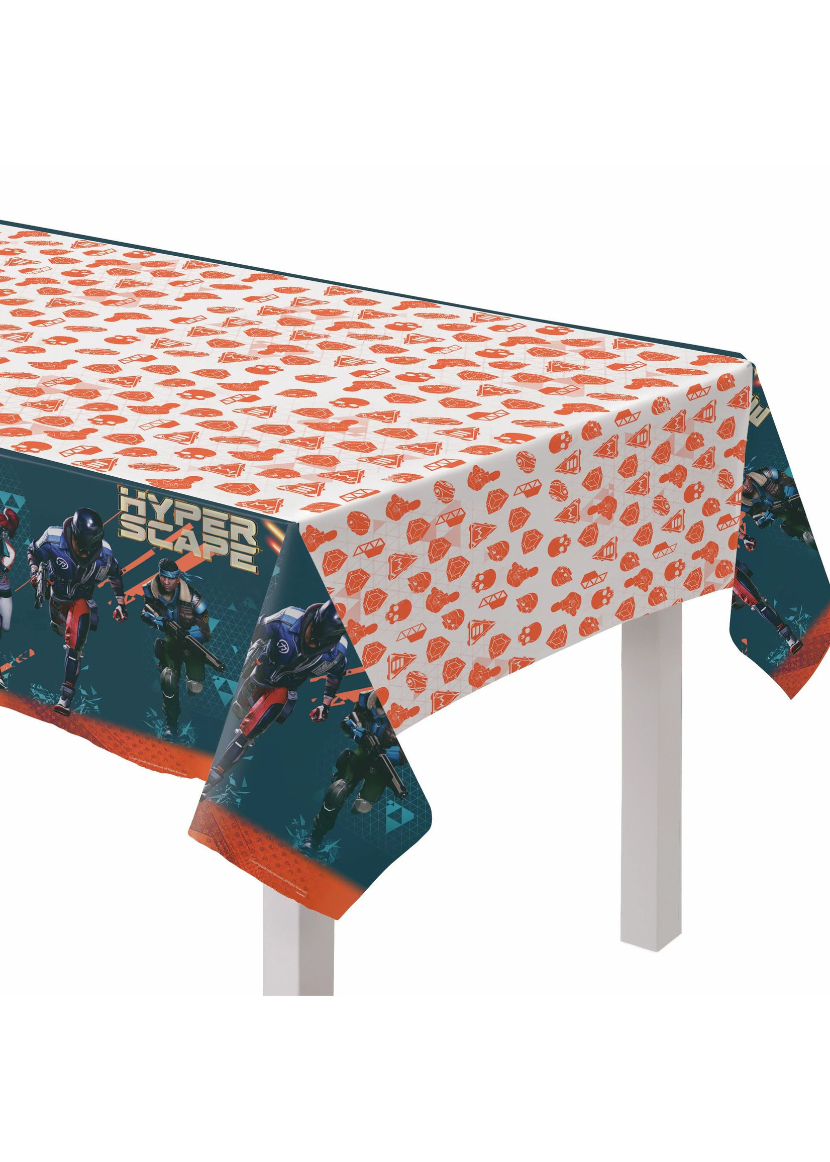 Hyper Scape Table cover Paper