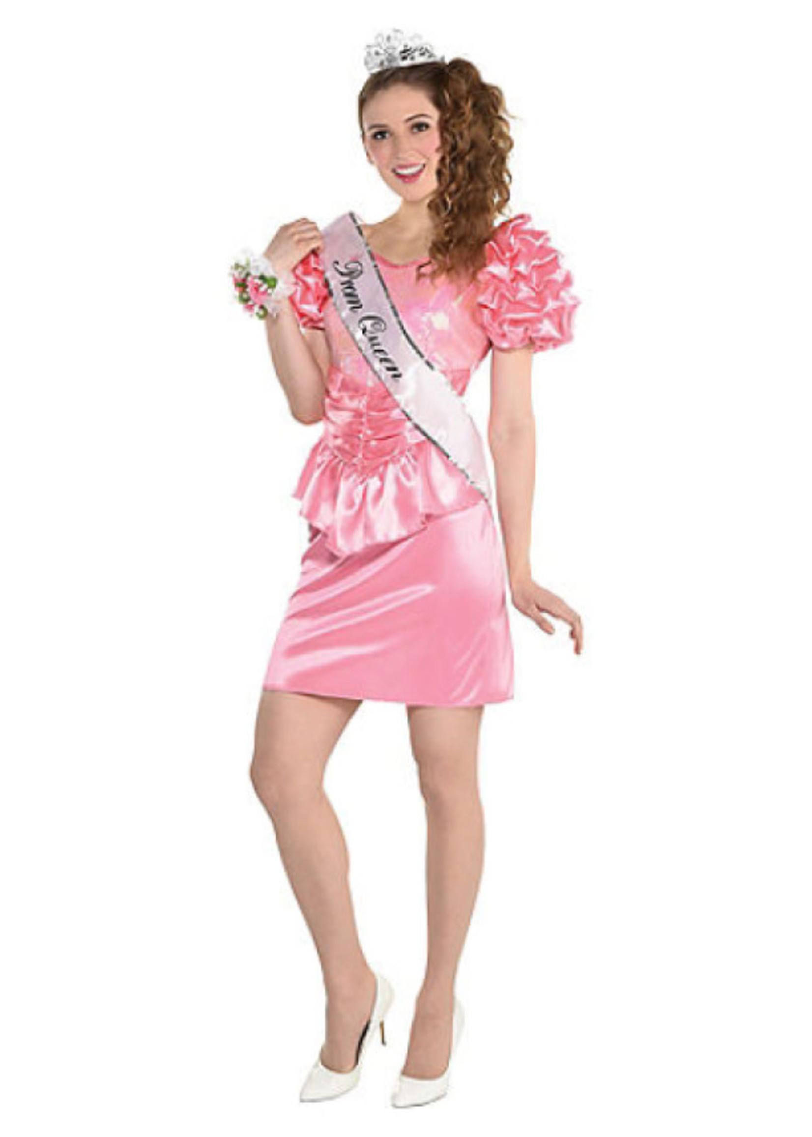 80's Prom Queen Dress Costume - Women's