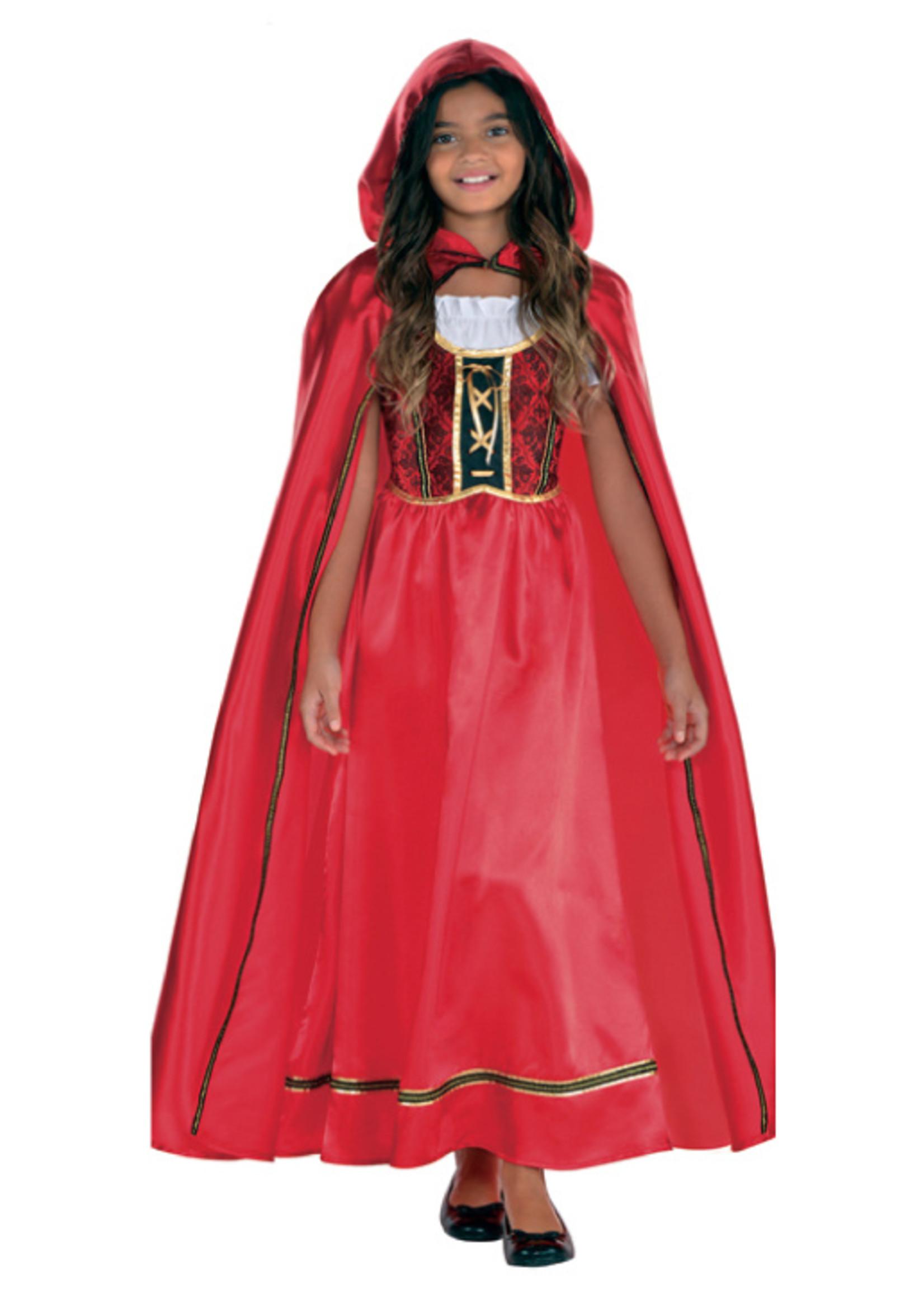 Fairytale Red Ridding Hood Costume - Girls
