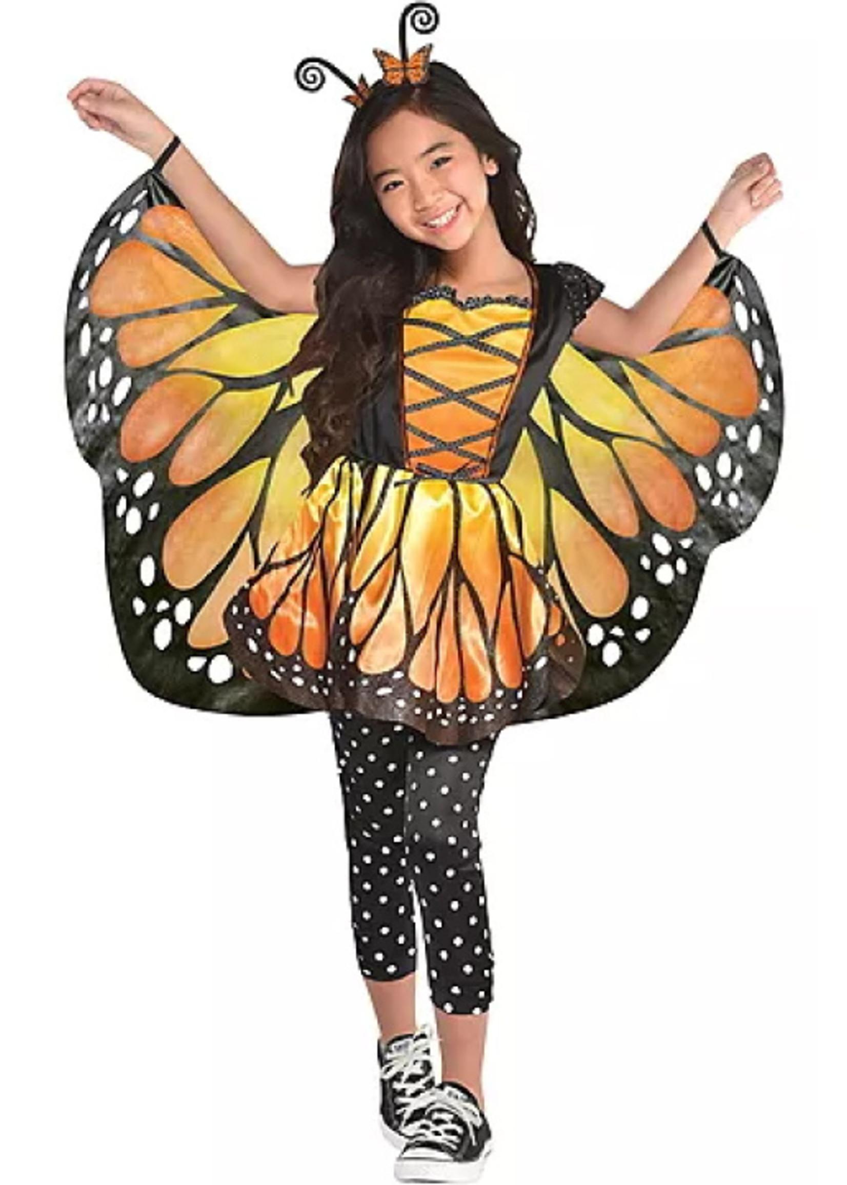 Monarch Butterfly Costume - Girls