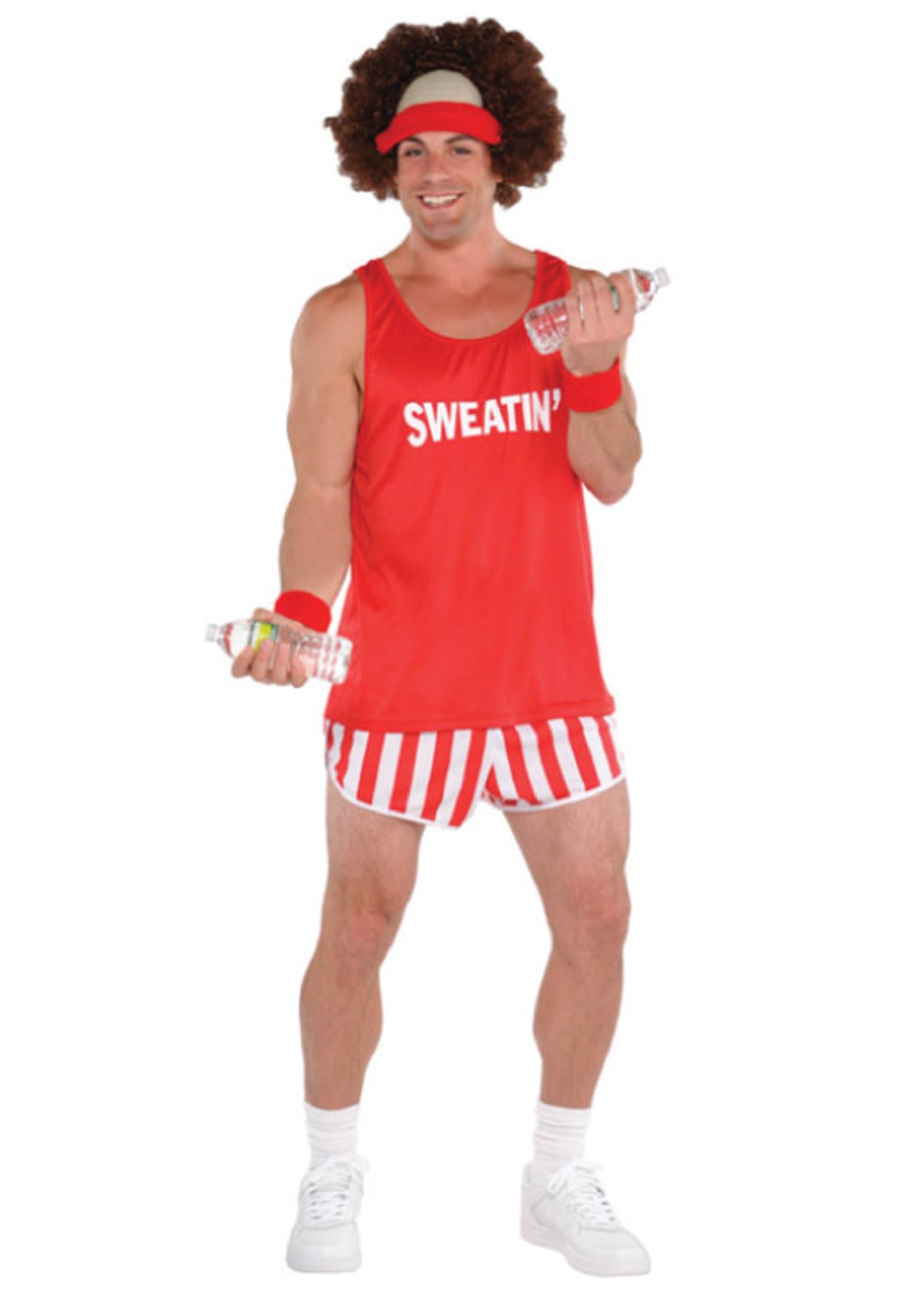 Exercise  Maniac Costume - Men's