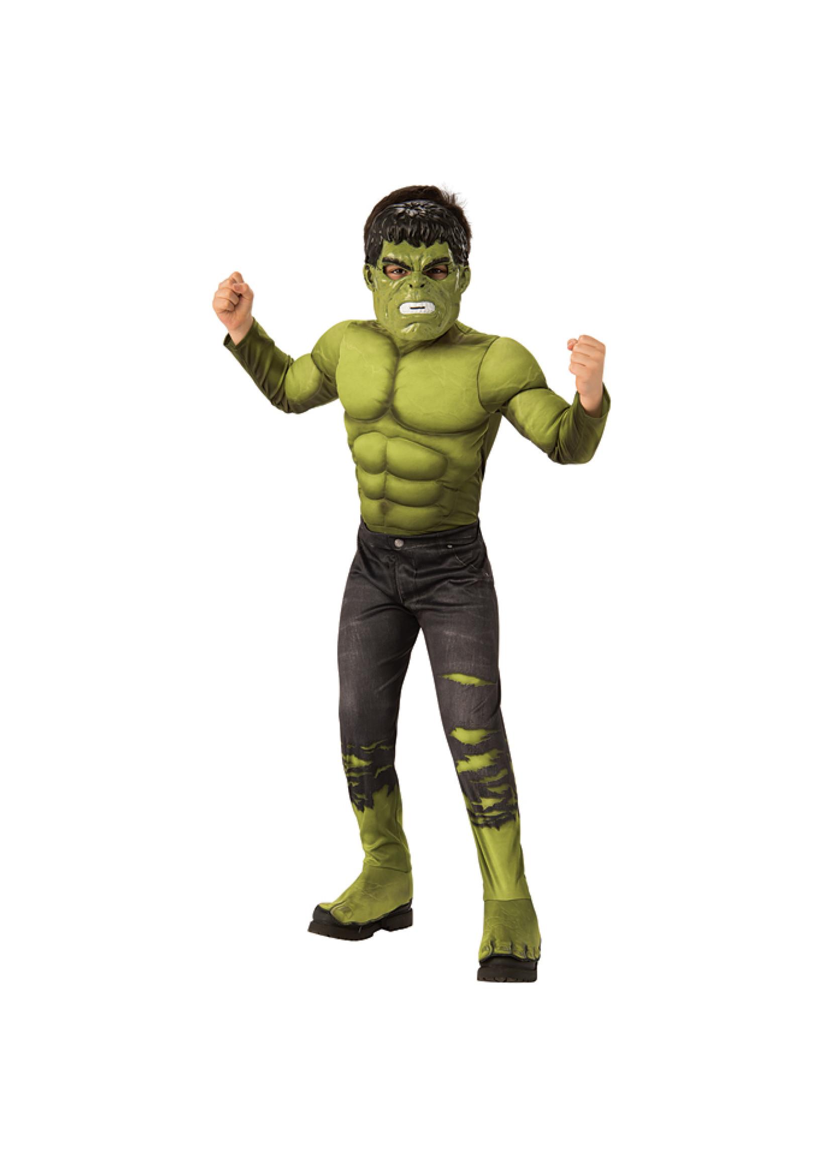 RUBIES Hulk Avengers  Endgame Costume - Boy's