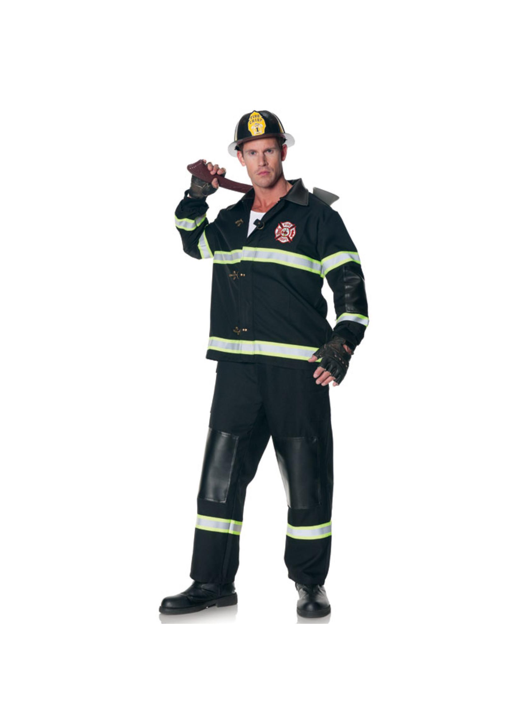 UNDERWRAPS Fireman Outfit - Men's